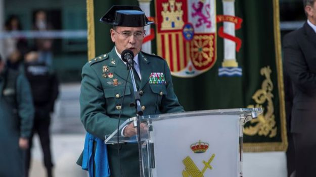La Asocación Pro Guardia Civil saca la cara por Diego Pérez de los Cobos