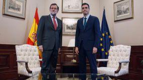 Rajoy y Sánchez se ponen de acuerdo contra el referéndum en Cataluña