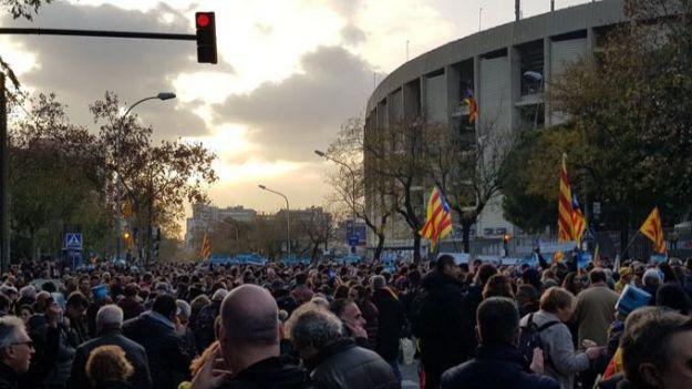 Una escisión de Tsunami Democràtic llama a repetir el 'otoño caliente' en Cataluña