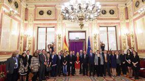 Felipe VI se réune con una delegación de la patronal japonesa