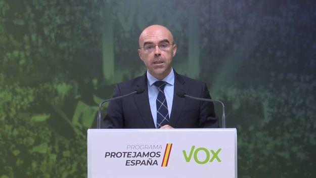 Buxadé (Vox): 'La primavera progre nos llevará de un infierno demográfico a un infierno moral e intelectual'