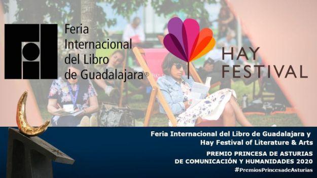 La Feria del Libro de Guadalajara y el Hay Festival, Premio Princesa de Comunicación y Humanidades