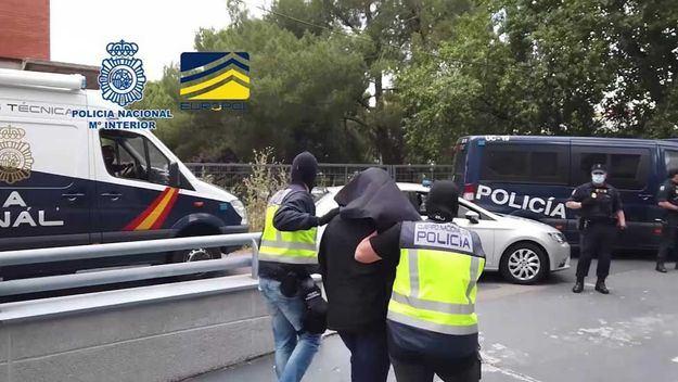 La Policía Nacional detiene en Madrid a un miembro del aparato financiero de DAESH
