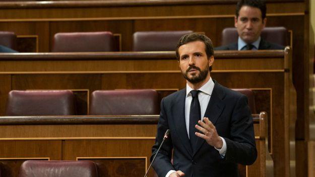 Casado se abre a apoyar el decreto de la 'nueva normalidad' si el Gobierno se sienta con el PP