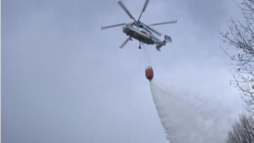 España apoya a Portugal en las labores de extinción de sus incendios activos