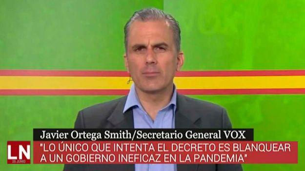 Ortega: 'VOX no puede apoyar a un Gobierno que ha dejado atrás a los españoles'