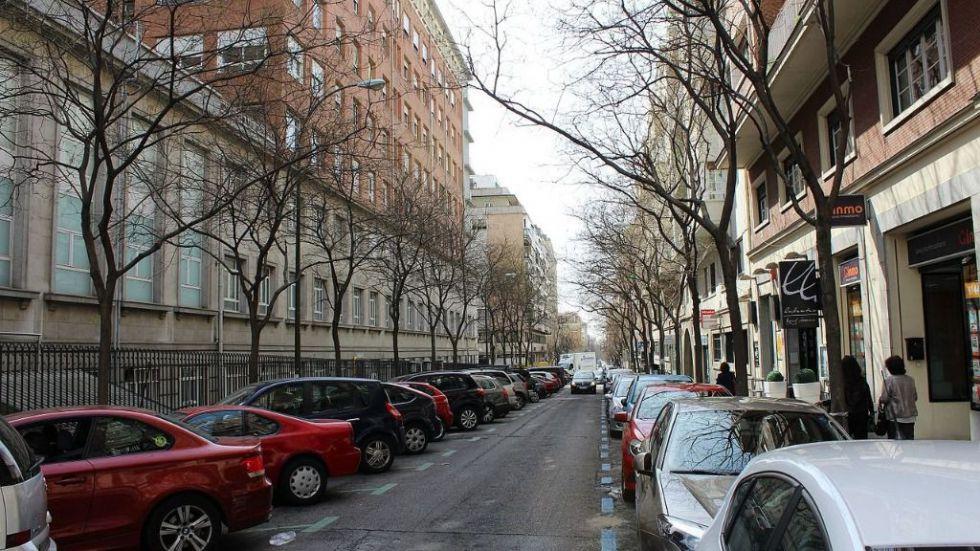 Detenido por matar a una persona sin hogar arrojándole un saco de escombros en Madrid
