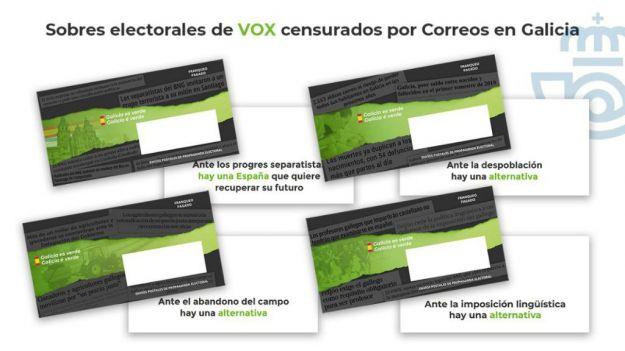 La JEC da la razón a VOX en el caso del secuestro de los sobres electorales en Galicia y País Vasco