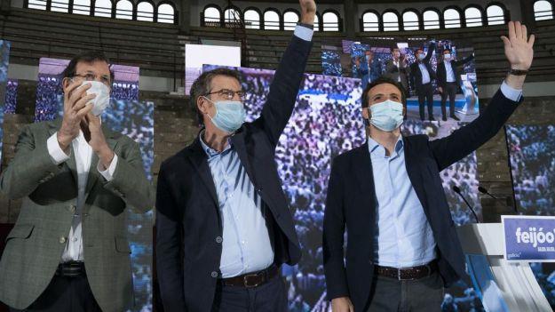 Feijóo apela a los votantes del PSOE, Cs y Vox en las generales para 'cumplir' un 'mandato de 2020 a 2024'