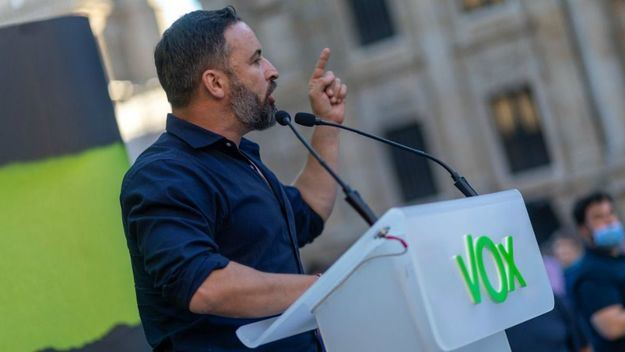 Abascal asegura que los gallegos tendrán una voz útil en el Parlamento de Galicia el 12 de julio