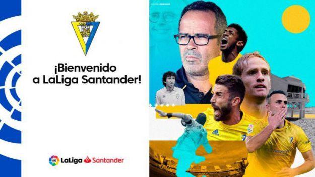 El Cádiz vuelve a LaLiga Santander
