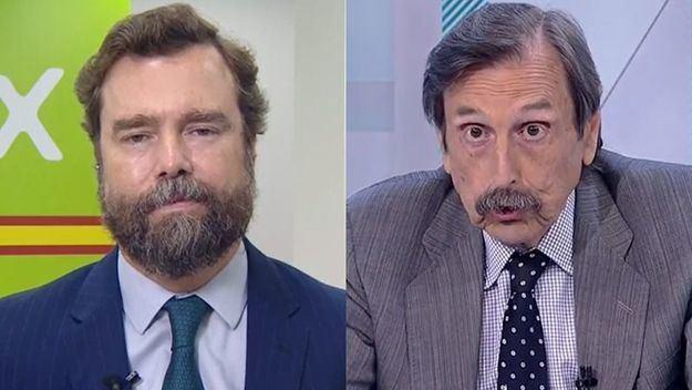 El portavoz de Vox y un periodista se retan para verse en los tribunales tras un cruce reproches en TVE