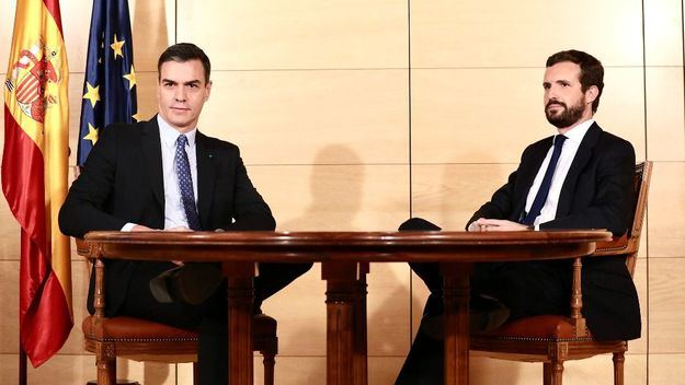 Casado asegura que Sánchez no le llama desde el 4 de mayo: 'Esto fuera no se cree'