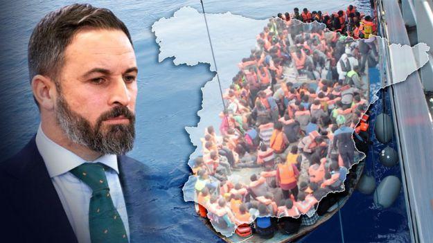 Abascal: 'El Gobierno debe proteger las fronteras para garantizar la seguridad de los españoles'