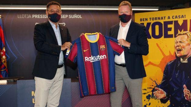 Ronald Koeman, a los mandos del FC Barcelona