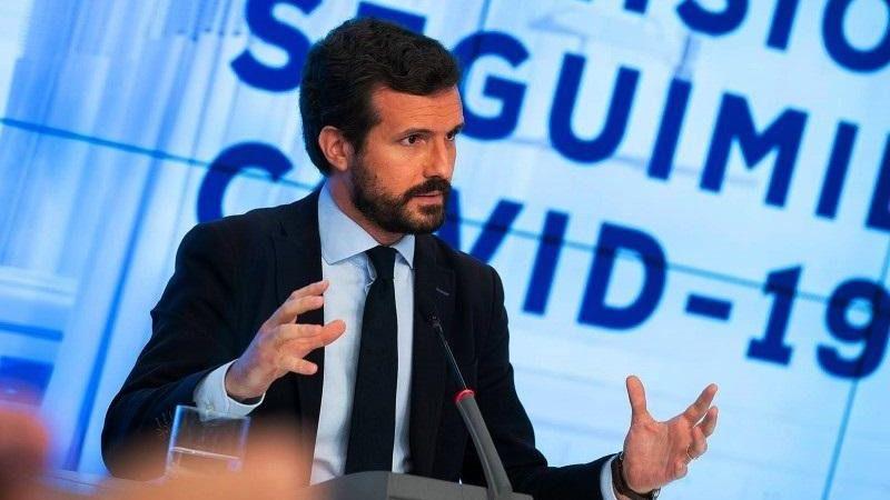 Casado acusa a Sánchez de 'dar la espantada' frente a los rebrotes y cargar la responsabilidad a las comunidades