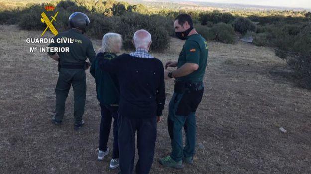 La Guardia Civil localiza a dos personas que se encontraban desaparecidas