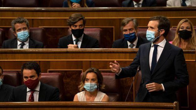Casado a Sánchez: 'Ahora que pide disculpas a Iglesias cuando le regaña, hágalo también al resto de españoles'