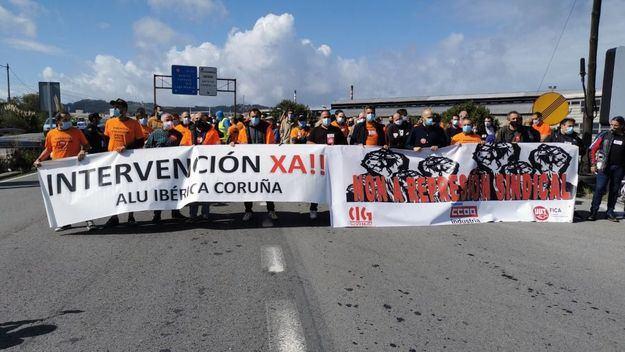 Gobierno y Xunta acusan a Alcoa de empujar a los trabajadores a un conflicto innecesario
