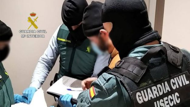 La Guardia Civil detiene en Madrid a un presunto miembro de Daesh