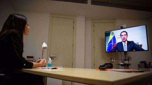 Arrimadas a Guaidó: 'Sois un ejemplo de valentía y libertad'