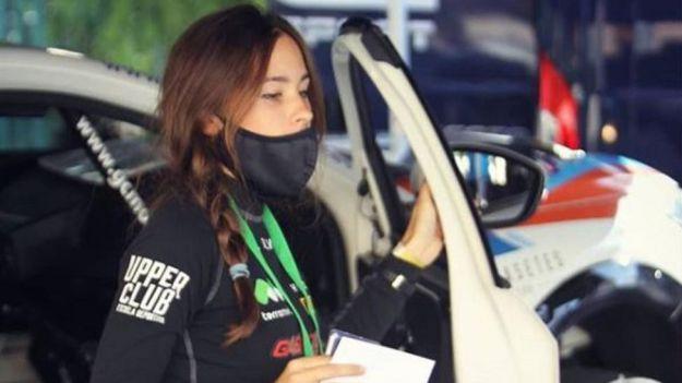 Muere la copiloto española Laura Salvo a los 21 años de edad en un accidente