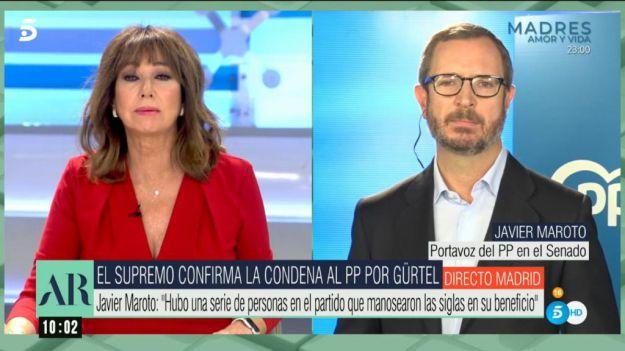 Maroto: 'Sánchez es presidente apoyado en una falsedad que la Justicia deja perfectamente clara'