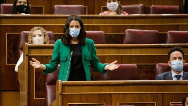 Arrimadas: 'El Gobierno ha decretado el Estado de Alarma pero sigue sin tomar las riendas'