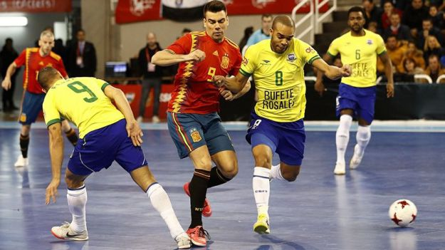 Fútbol sala: Brasil es la única selección que tiene contra España un balance favorable