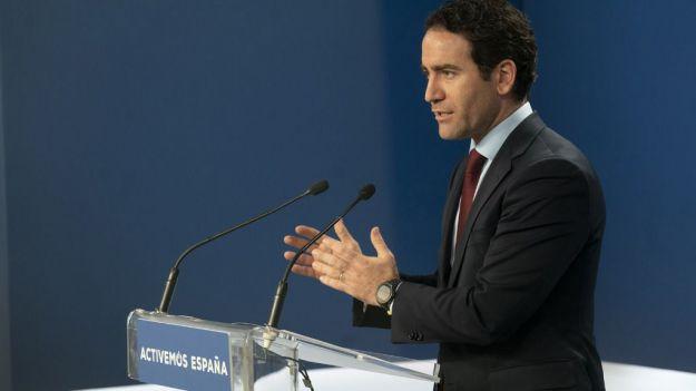 Egea: 'No puede ser que el Gobierno se quite de en medio y se lave las manos'