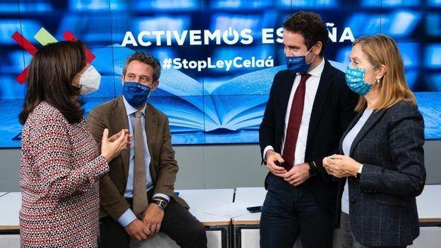 El PP promueve '#StopLeyCelaá: Defendemos la Libertad'