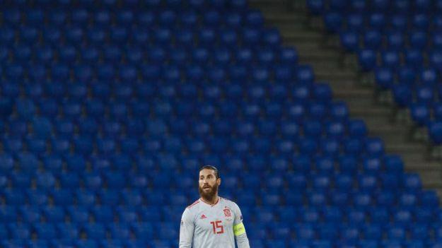 Sergio Ramos es el tercer jugador con más partidos de selecciones de la historia