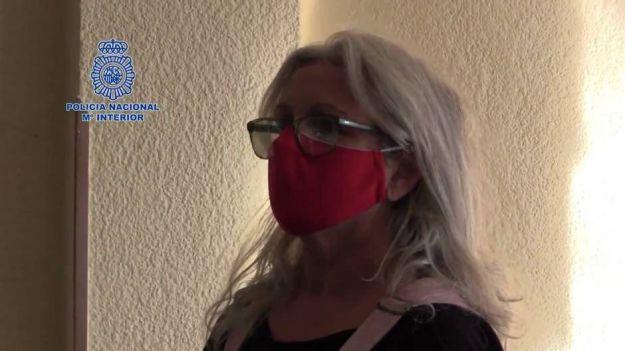 La Policía traslada a España a María Natividad Jáuregui Espina entregada por las autoridades belgas