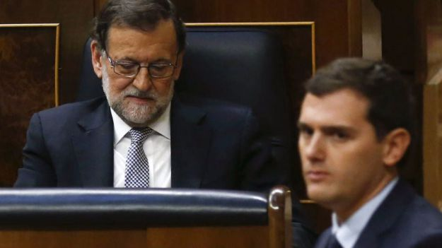 Albert Rivera apoyará al Gobierno frente al desafío independentista