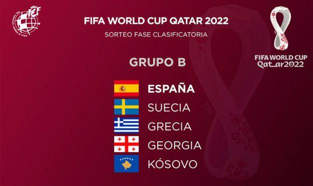 Conoce a los rivales de España en la fase de clasificación del Mundial de Catar 2022