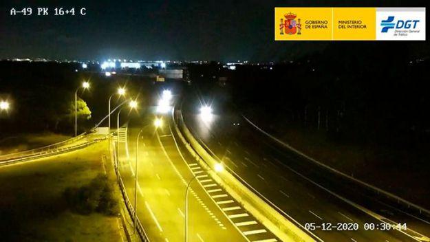 La Guardia Civil detiene a dos conductores en sentido contrario en la autovía de Sevilla a Portugal