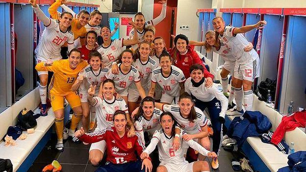 España en su mejor puesto histórico en el ránking FIFA