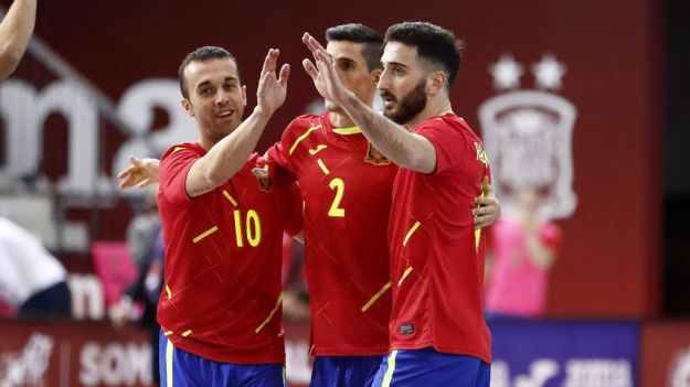 La Selección Española de Fútbol Sala cierra el año dominando y pidiendo un deseo en forma de estrella