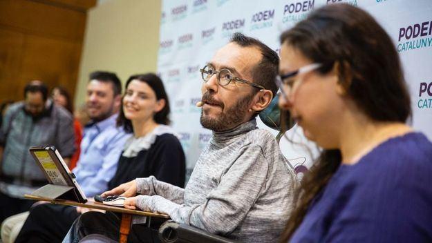 Echenique exige al PSOE eliminar 'beneficios caídos del cielo' a las eléctricas