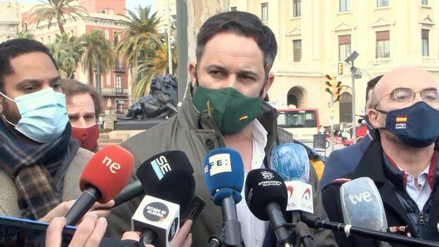 Abascal desde Barcelona: 'Basta ya de excepcionalidad institucional'