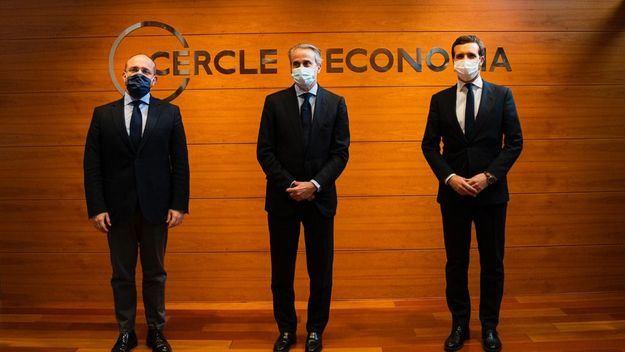 Casado sitúa al PP como parte 'indispensable' de la solución en Cataluña