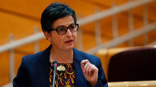 Vox a la ministra de Exteriores: 'Este acuerdo es el beso de Judas con el que entregan Gibraltar'