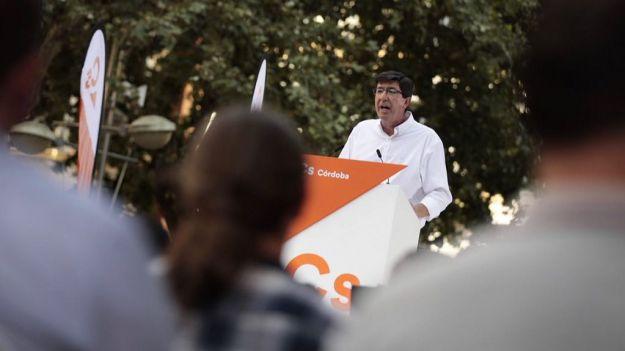 Juan Marín se presentará a las primarias de Ciudadanos en Andalucía