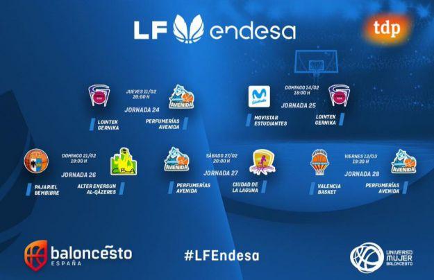 Tramo final de la temporada de La Liga Femenina Endesa
