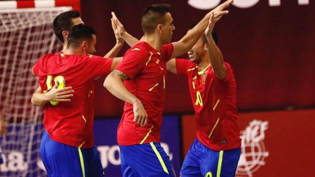 Fútbol Sala: España y Eslovenia vuelven a encontrarse
