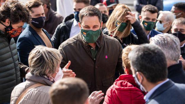 Santiago Abascal: 'VOX obtendrá un resultado extraordinario en Cataluña'