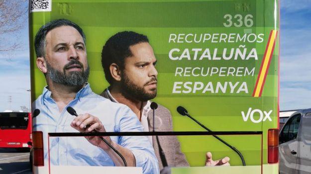Ignacio Garriga: 'Hemos venido a denunciar la creciente islamización en Cataluña'