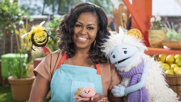 Netflix presenta las primeras imágenes de 'Gofre + Mochi', su nueva serie con Michelle Obama