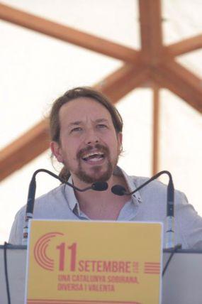 La Diada reúne a Ada Colau y Pablo Iglesias