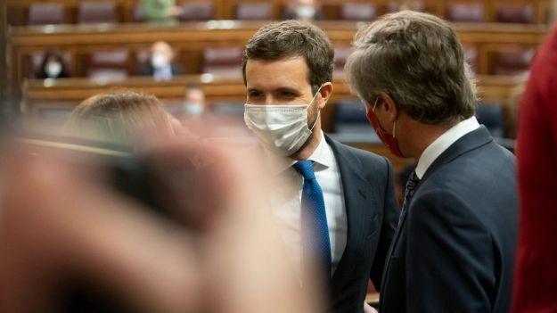 Casado a Sánchez: 'Si no para los pies a su vicepresidente se está haciendo corresponsable de lo que suceda'